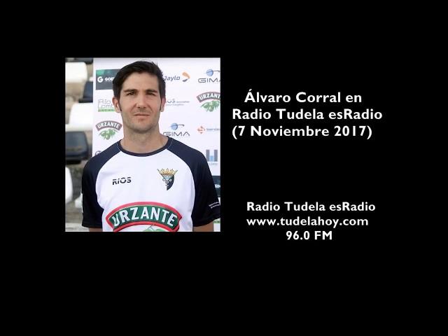 Entrevista a Álvaro Corral en Radio Tudela esRadio (07/11/17)