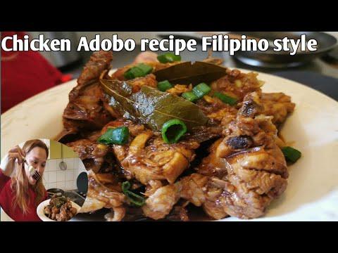 Chicken Adobo recipe Filipino style / Delicious Filipino food