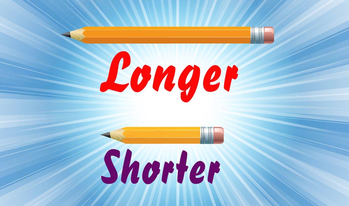Longer & Shorter   Comparison for Kids   Part 5   Periwinkle - YouTube