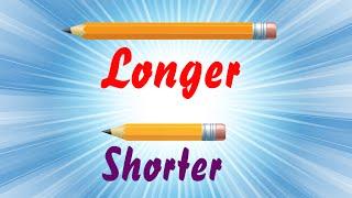 Longer & Shorter | Comparison for Kids | Part 5 | Periwinkle
