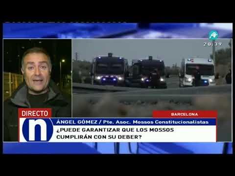 Los Mossos constitucionalistas no descartan muertes en Cataluña