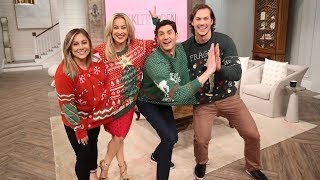 Shawn Johnson East & Andrew East's Holiday Relay Race - Pickler & Ben