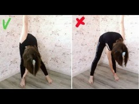 """Упражнение """"Мельница"""": от складок жира на спине и подвисающего жира на животе"""