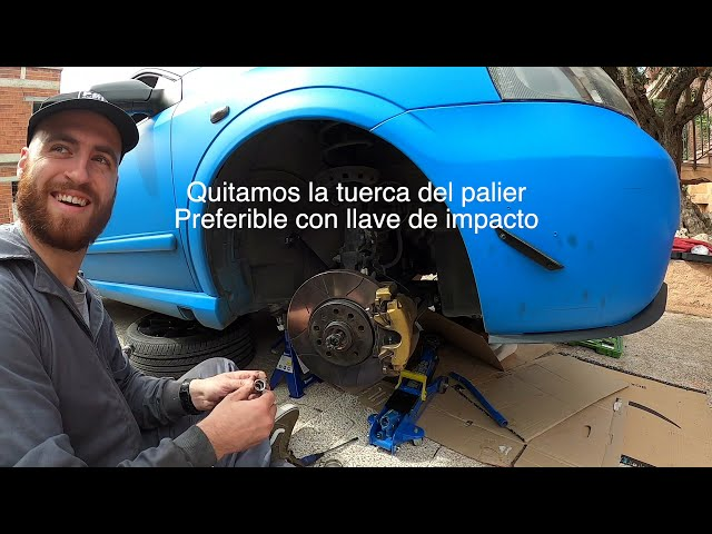 Cambio palier Opel astra G Coupe | Copelas Suspension | Bertone Project