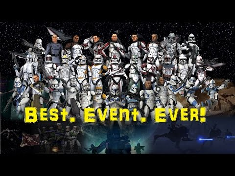 Star Wars Clone Wars RP! Best. Event. Ever!