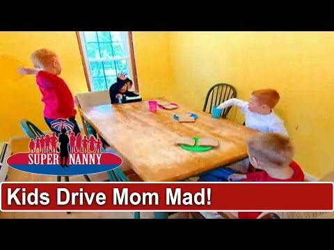 5 Violent Children Are Driving Mom Mad | Supernanny