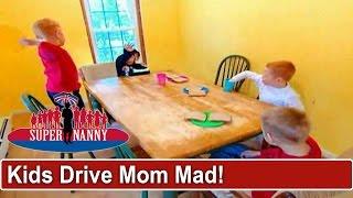 5 Violent Children Are Driving Mom Mad   Supernanny