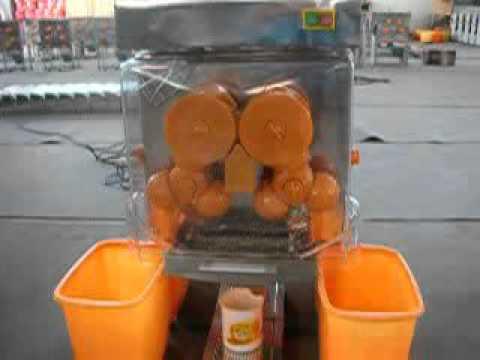 Auto Feed Electric Orange Lemon Fruit Juice Machine E 4