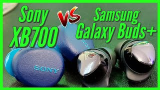 Sony WF-XB700 vs Galaxy Buds+