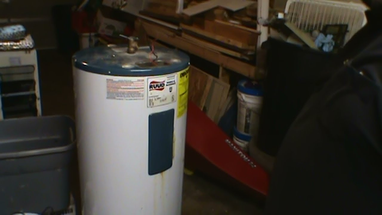 Scrapping An Electric Water Heater For Brass Copper
