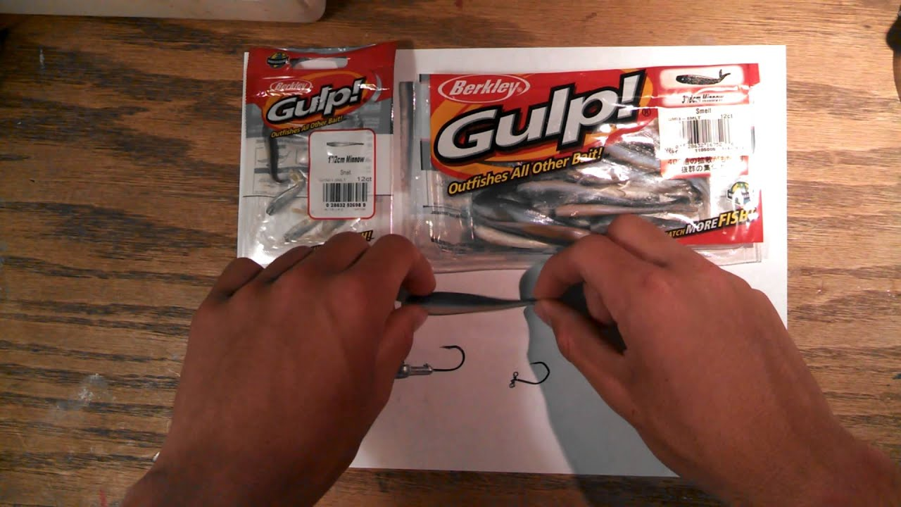 Berkley Gulp! Minnow Review and Rigging
