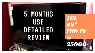 TCL L49D2900 Full HD LED TV || DETAILED REVIEW