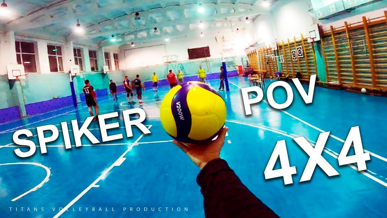 Download VOLLEYBALL FIRST PERSON   Wing Spiker - Highlights   4 vs 4   20 episode   POV