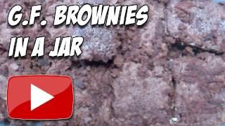 Gluten Free Gift Idea - Brownies In A Jar