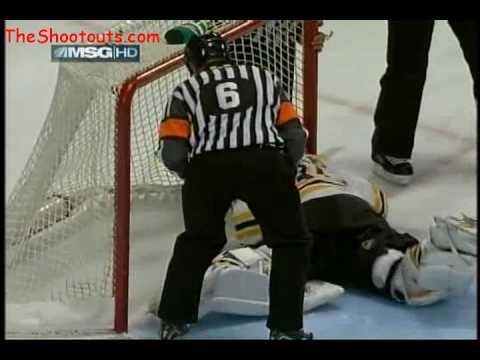 Nigel Dawes (NYR) vs. Tim Thomas (BOS) Shootout No...