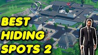 NEW Secret Hiding Spots in Fortnite Battle Royale Season 10! - Episode 2