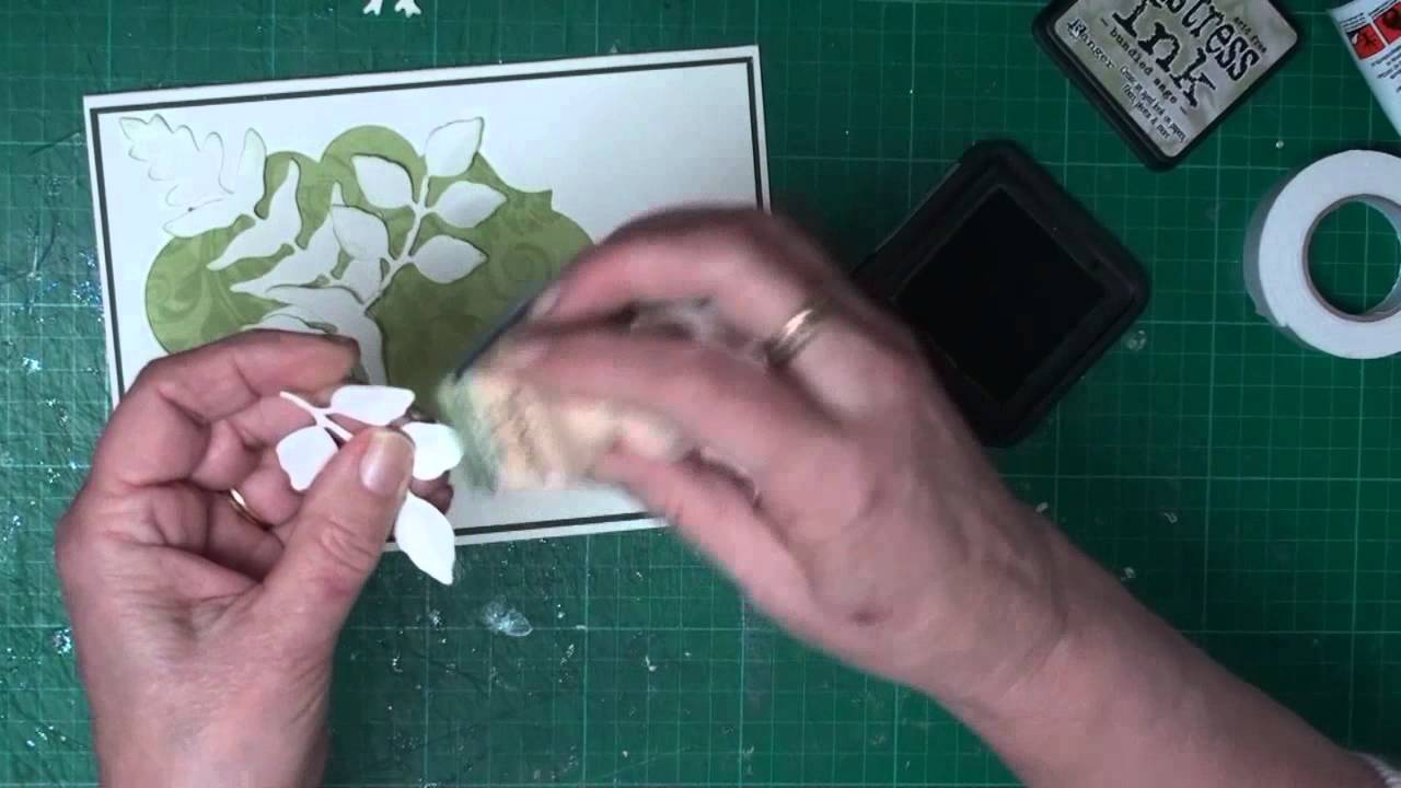 aperture card with spellbinders card making magic com youtube