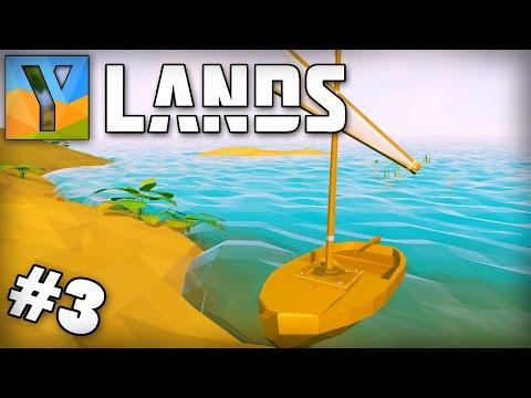 Ylands | Survival/Exploration/Sandbox Game | Ep 3 - DISASTER STRIKES!