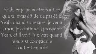 Ariana Grande ~ God is a woman ~ Traduction Française