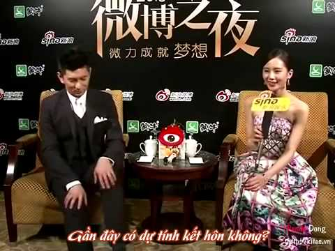 [Vietsub]Phỏng vấn Ngô Kỳ Long Lưu Thi Thi: Khi nào kết hôn là thuận theo tự nhiên