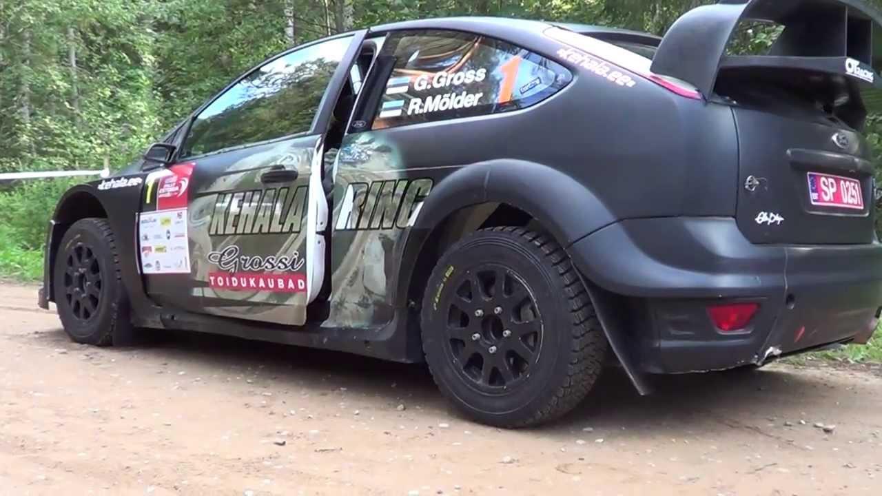 Auto 24 Rally Estonia 2013 Youtube