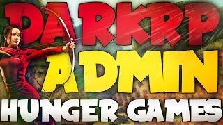 ADMIN SERIE DARKRP #1 | EVENT HUNGER GAMES ! | GARRY'S MOD RP ADMIN | GANG9STAR