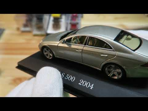 Unboxing My Mercedes Model Cars Collection In Scale 1:43. Колекция моделей Мерседес Бенс