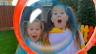 Bubbles Song | Eva Nursery Rhymes & Kids Songs with Eva