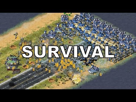Easy Survival Map - First Time Playing it - Red Alert 2 Yuri's Revenge on red alert 3 maps, nikos deja vu yuri maps, tiberian sun maps,
