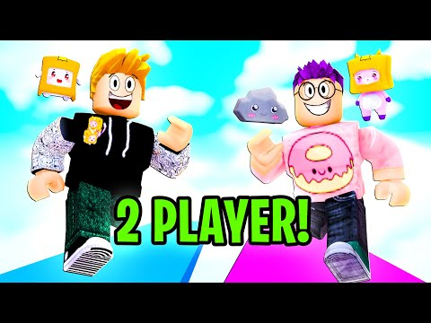 Can We Beat This 2 PLAYER OBBY In ROBLOX?! (MIRACULOUS LADYBUG HELPED US!)