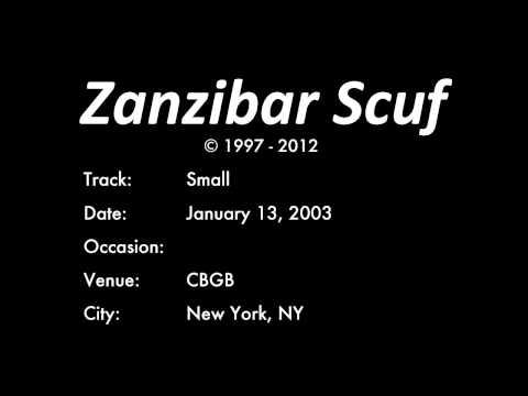 Zanzibar Scuf - Small - January 13, 2003
