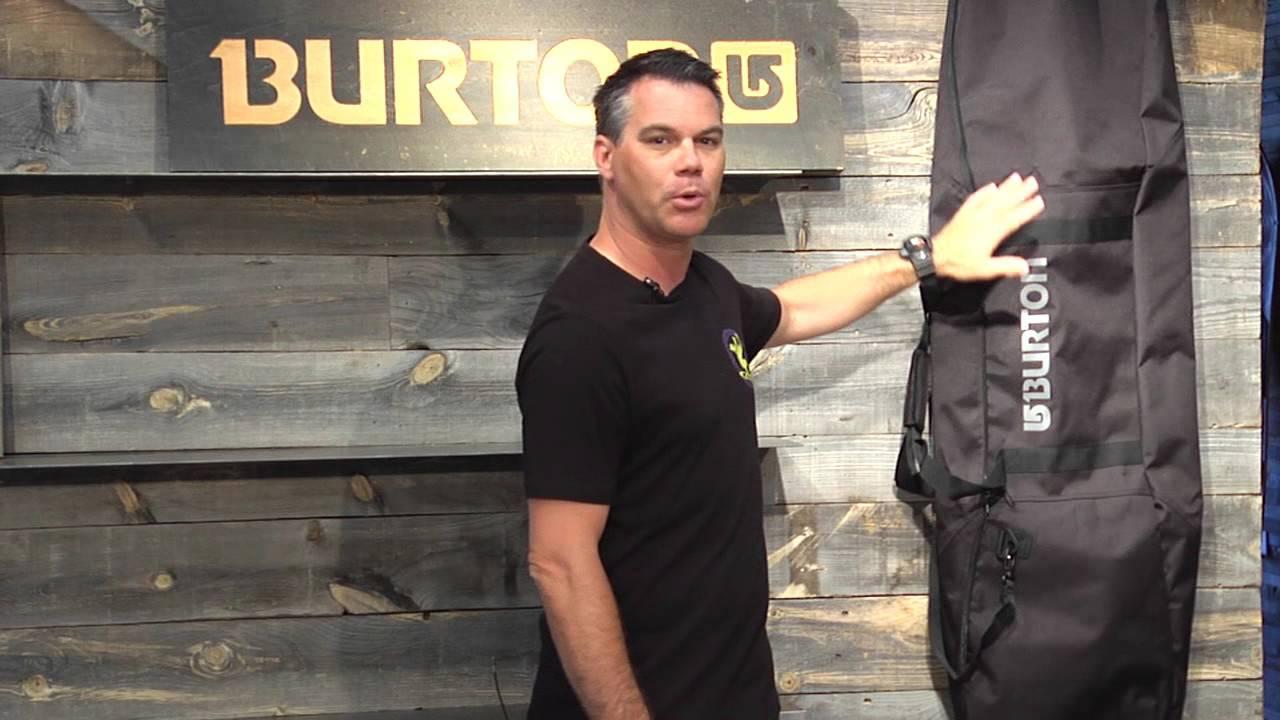 c0921e7c58dd1c BURTON 2016 Space Sack Snowboard Bag - YouTube