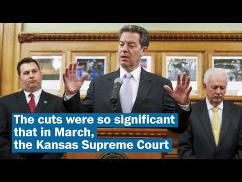 How Sam Brownback's tax 'experiment' failed