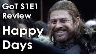 Ozzy Man Reviews: Game of Thrones - Season 1 Episode 1
