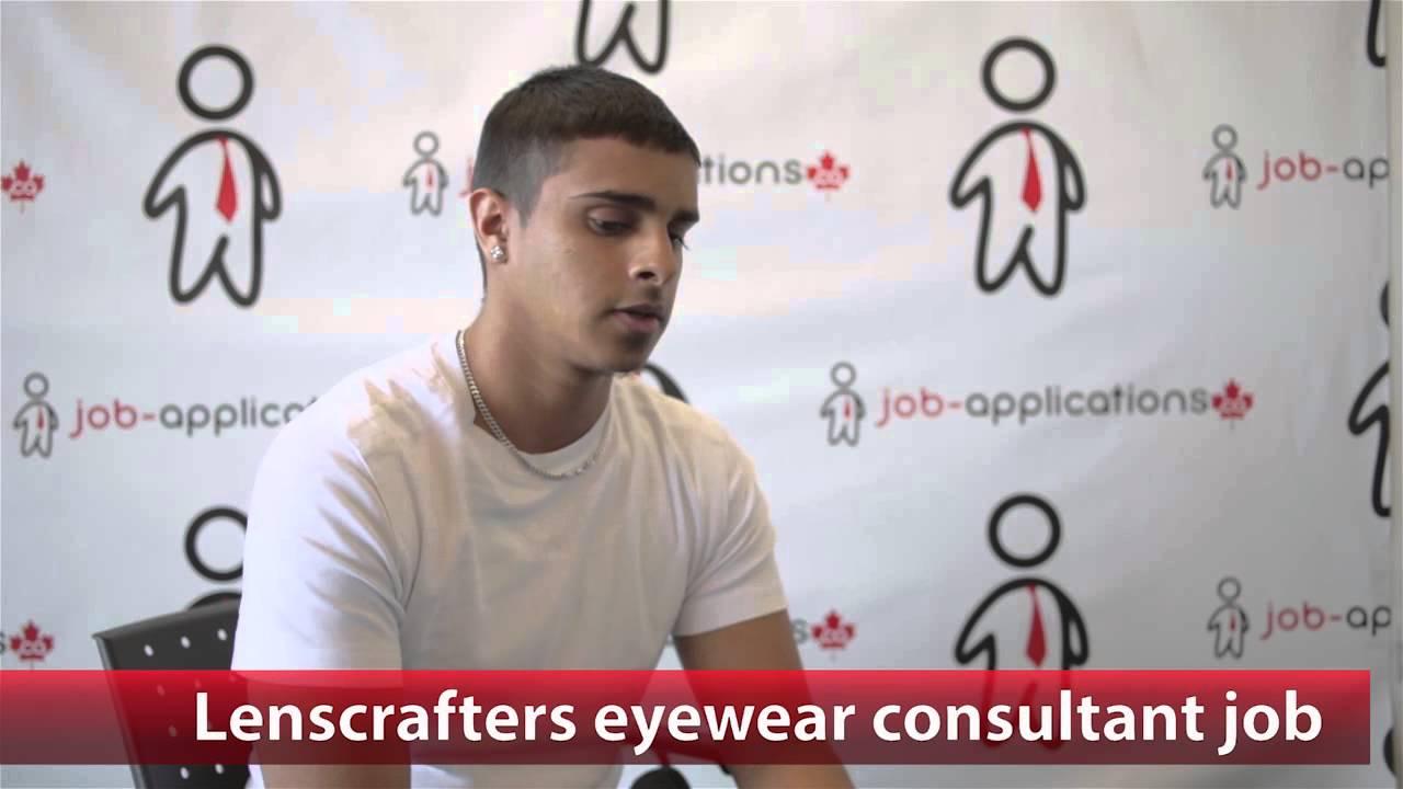 f5c0989c5de Lenscrafters Sales Associate Job - YouTube