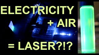 DIY Laser Made from Thin Air!!
