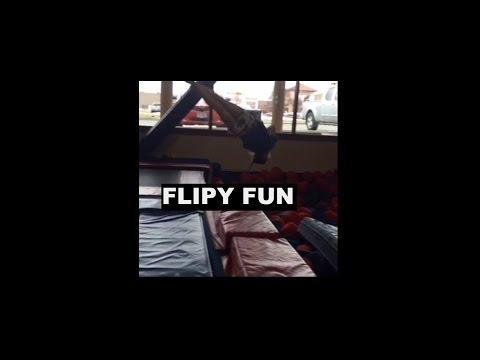 Fun at The Energy Plex: Flips, tricks and fun! | Olivia Wattie9
