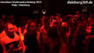 Stadtranderholung 2015 Duisburg - Abschluss im Pulp