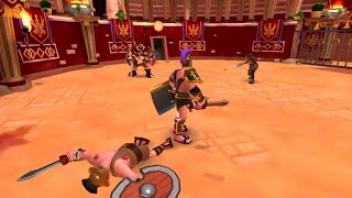 GladiatorHeroes - Gladiator Heroes Clash: Fighting and Strategy Game - Android Gameplay HD screenshot 3