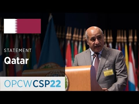 Qatar Statement by Mr Jassim Bin Mohamed Al Thani at CSP-22
