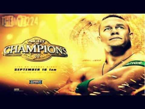 """WWE: Night Of Champions 2012 Official Theme Song """"Somedays"""" HD"""