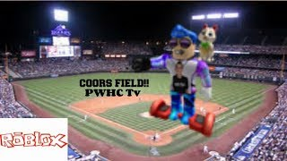 GOING TO COORS FIELD IN ROBLOX!! Gif!! intro!! komisch!!