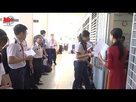 Kỳ thi tuyển sinh lớp 10 năm học 2016 - 2017 diễn ra nghiêm túc, đúng quy chế