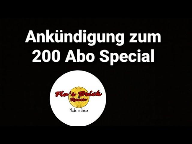 Ankündigung zum 200 Abo Special