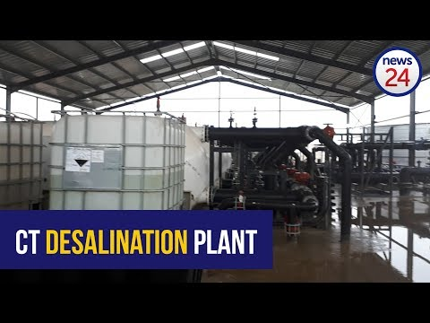First drinking water from desalination a step toward greater resilience to drought - Ian Neilson
