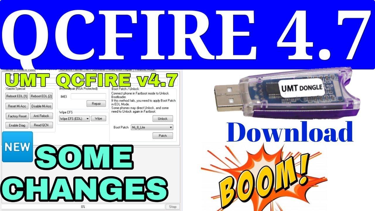 تحديثات يو إم تي كوالكوم - UMT Qualcomm Qc Fire Update