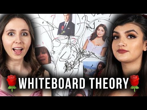 OUR THEORY On Peter Weber&39;s FINAL Two: The Bachelor Whiteboard