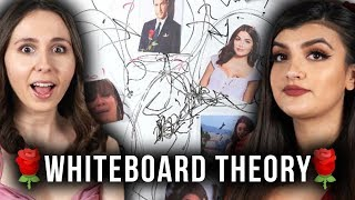 OUR THEORY On Peter Weber's FINAL Two: The Bachelor Whiteboard