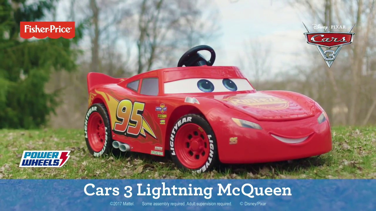 Disney Pixar Cars Electric Car