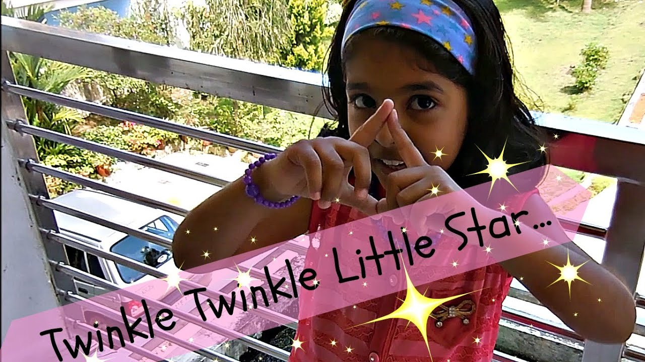 Action Song English Twinkle Twinkle Little Star Youtube
